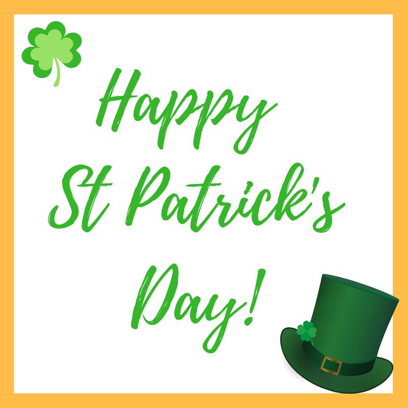 Happy St Patrick'sDay 2017