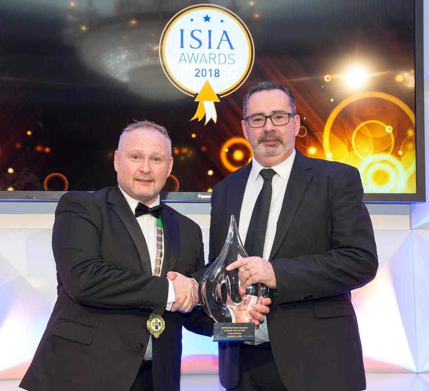 Crothers Security ISIA Locksmith of the Year Award Winners 2018